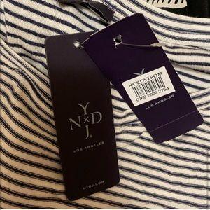 NYDJ Tops - ❤️NYDJ Black White Stripe Natural Relaxed Tee XL❤️